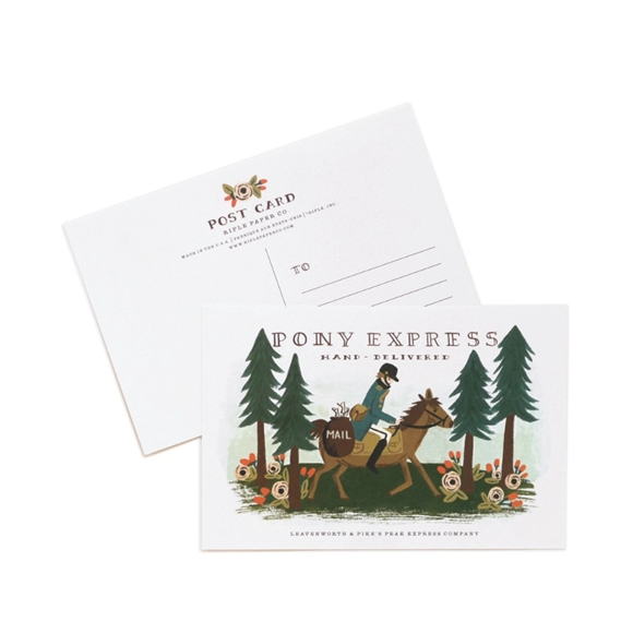 Pony Express Postcards