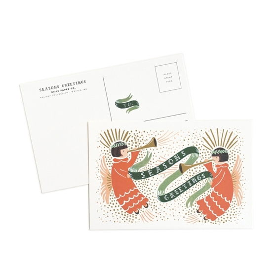 Season's Greetings Postcards - Northlight Homestore