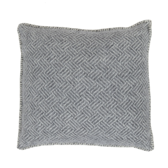Samba Grey Lambs Wool Cushion Cover