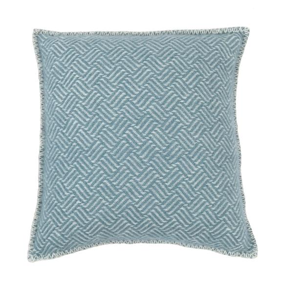 Samba Lead Grey Lambs Wool Cushion Cover