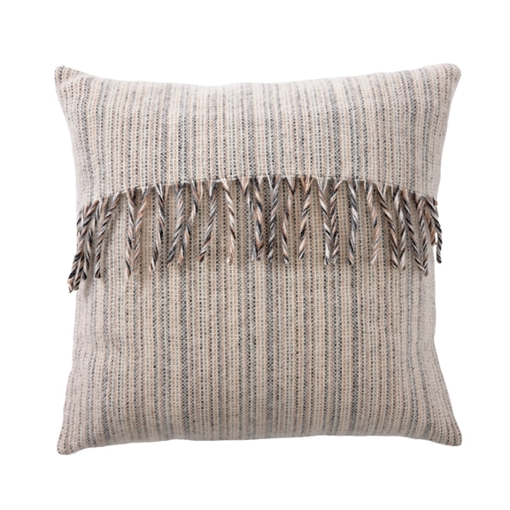 Bjork Eco Lambs Wool Natural Cushion Cover - Northlight Homestore