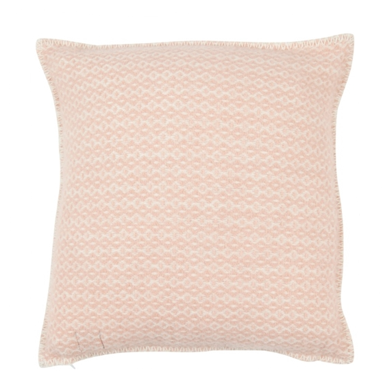 Rumba Eco Lambs Wool Rose Cloud Cushion Cover