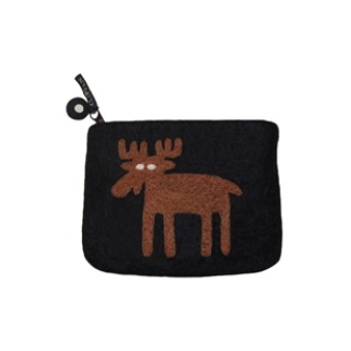 Moose Felt Purse - Northlight Homestore