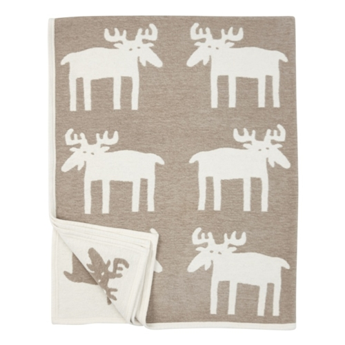 Moose Cotton Chenille Blanket (2 colours) - Northlight Homestore