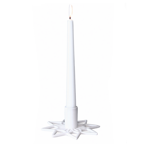 Star Ceramic Candle Holder