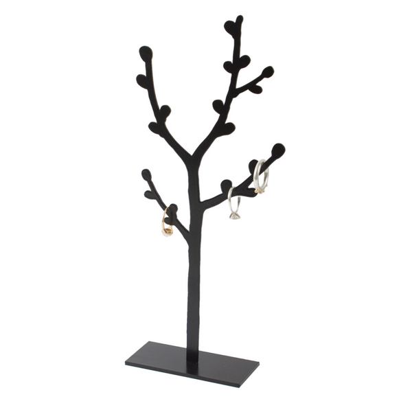 Small Osier Black Jewellery Tree