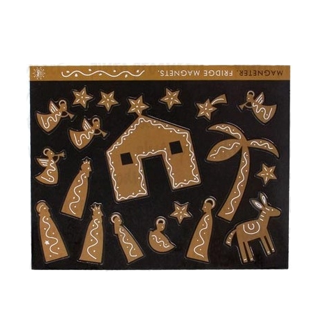 Gingerbread House Magnet - Northlight Homestore
