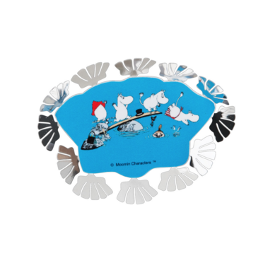 Moomin Bath Mini World Magnet