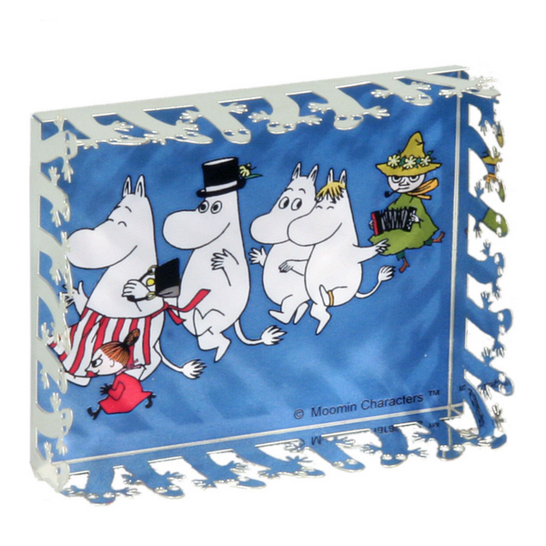 Moomin Family Mini World Magnet