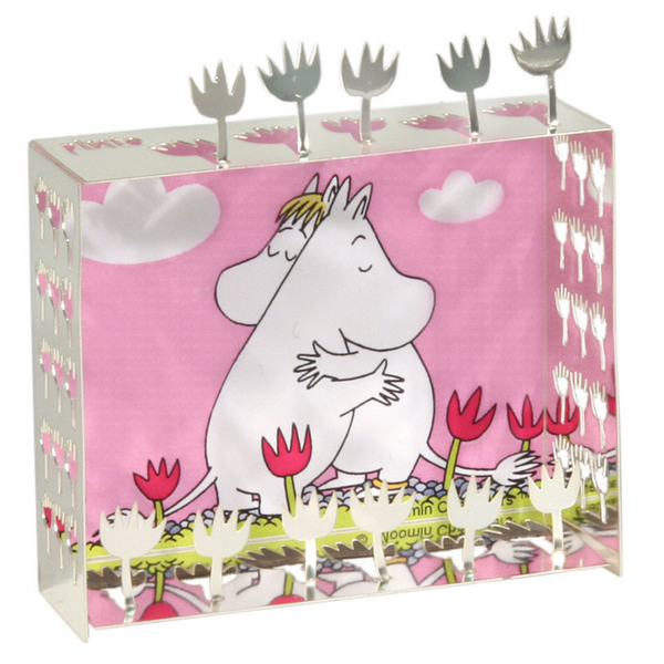 Moomin Hug Mini World Magnet