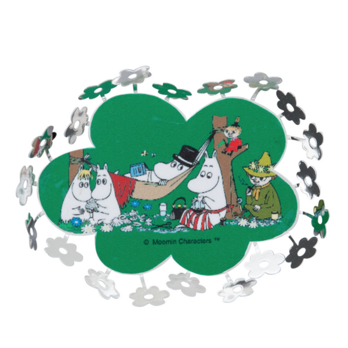 Moomin Picnic Mini World Magnet - Northlight Homestore