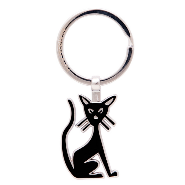 Black Cat Keyring - Northlight Homestore