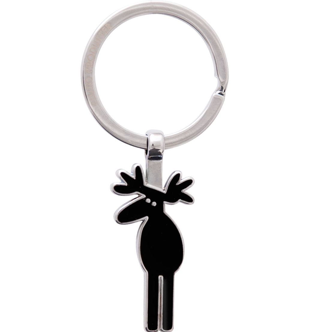 Black Moose Keyring - Northlight Homestore