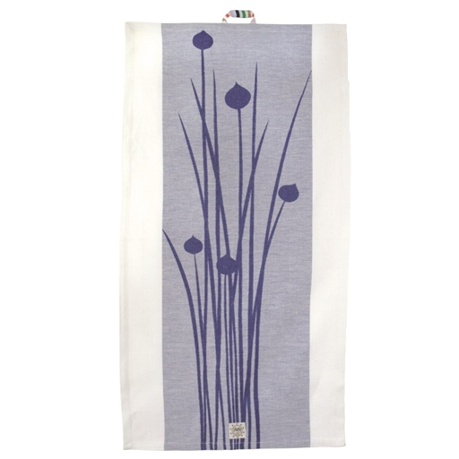 Graslock Blue Tea Towel