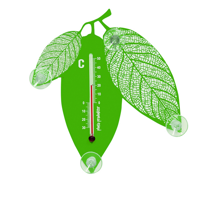 Leaf Green Thermometer - Northlight Homestore
