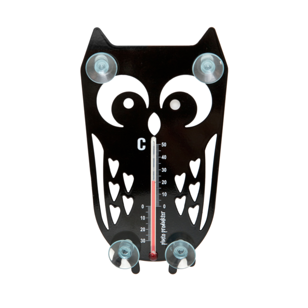 Owl Thermometer - Northlight Homestore