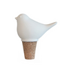 Bird White Bottle Stopper - Northlight Homestore