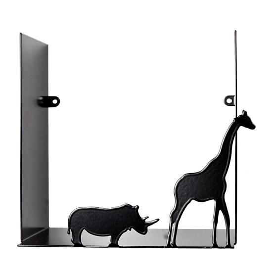Safari Black Shelf - Northlight Homestore