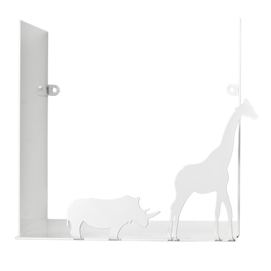 Safari White Shelf - Northlight Homestore