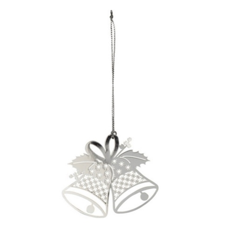 Bells Silver Decoration - Northlight Homestore