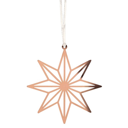 Copper Star 8 Pointed Decoration