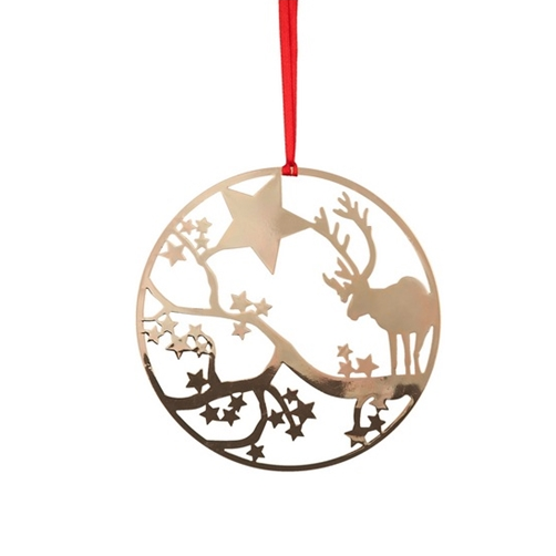 Deco Deer Gold Decoration