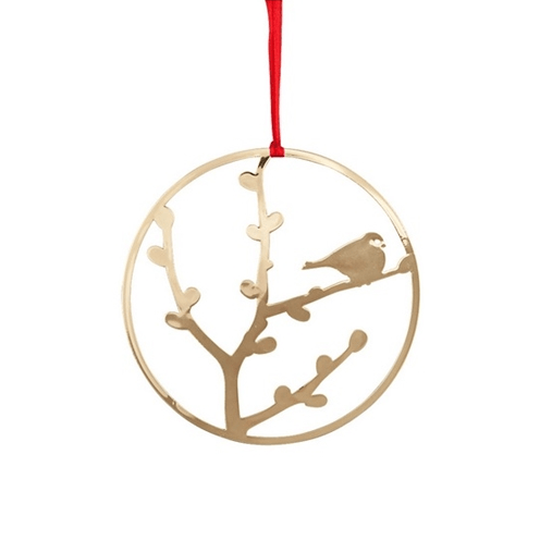 Deco Robin Gold Decoration