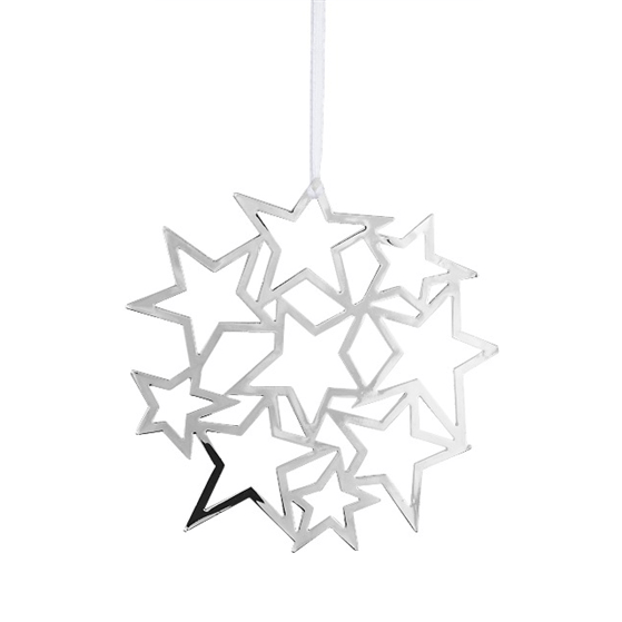 Deco Star Silver Decoration