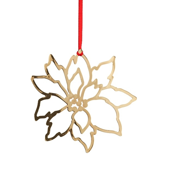 Deco Xmas Star Gold Decoration