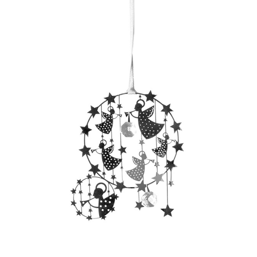 Deluxe Angel Silver Decoration - Northlight Homestore