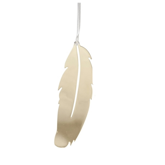 Feather Gold Decoration - Northlight Homestore