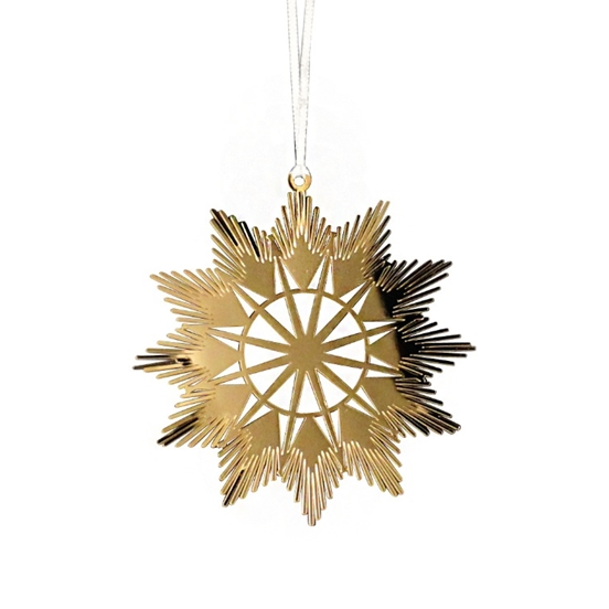 Gold Traditional Star Decoration
