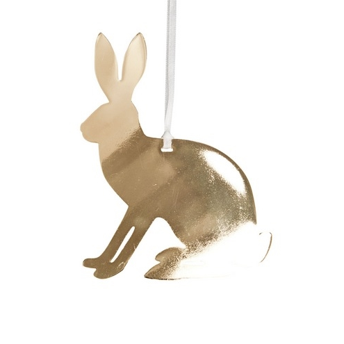 Hare Gold Decoration