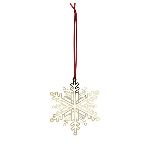 Snowflake Gold Decoration