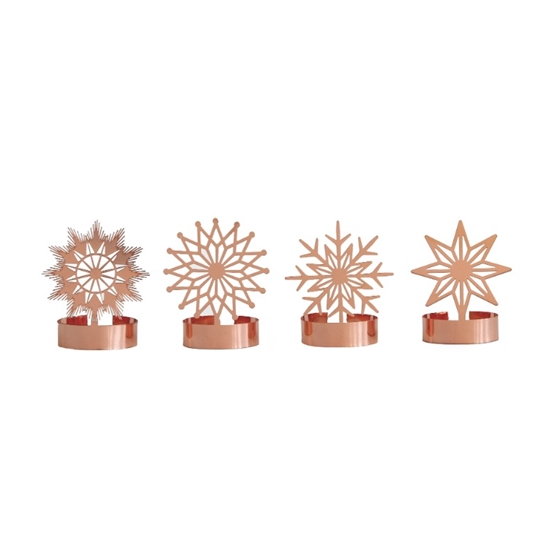 Stars Metal Candle Decoration - Northlight Homestore