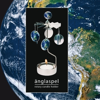 Earth Rotary Tealight Candle Holder