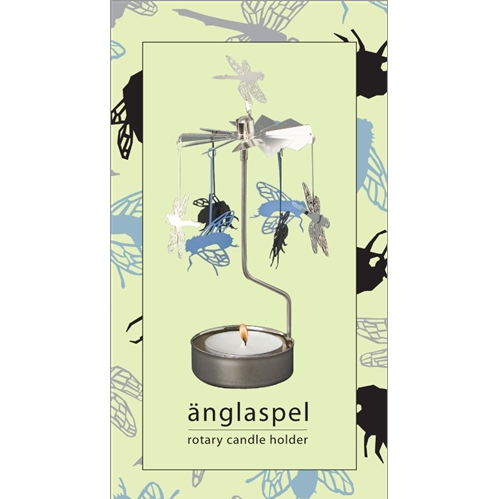 Insects Rotary Tealight Candle Holder