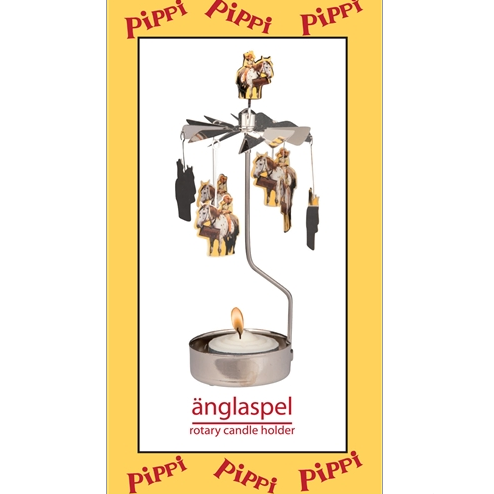Pippi Horse Rotary Tealight Candle Holder