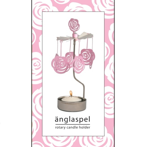 Rose Rotary Tealight Candle Holder - Northlight Homestore