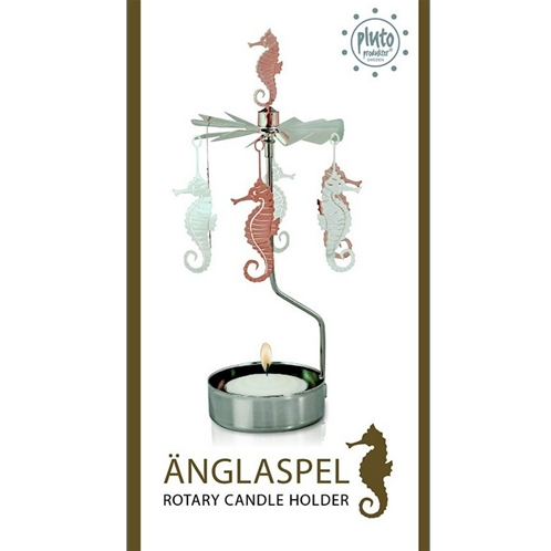Seahorse Rotary Tealight Candle Holder