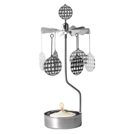 Star Ball Rotary Tealight Candle Holder - Northlight Homestore