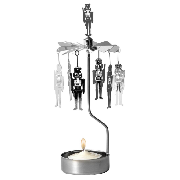 Toy Soldier Rotary Candle Holder - Northlight Homestore