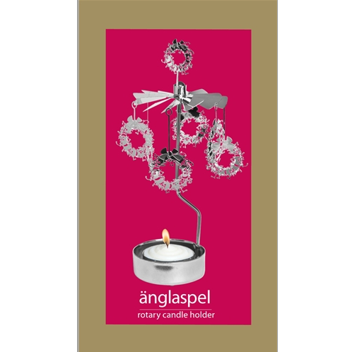 Wreath Rotary Tealight Candle Holder