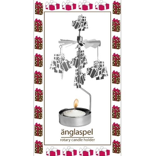 Xmas Gifts Rotary Tealight Candle Holder