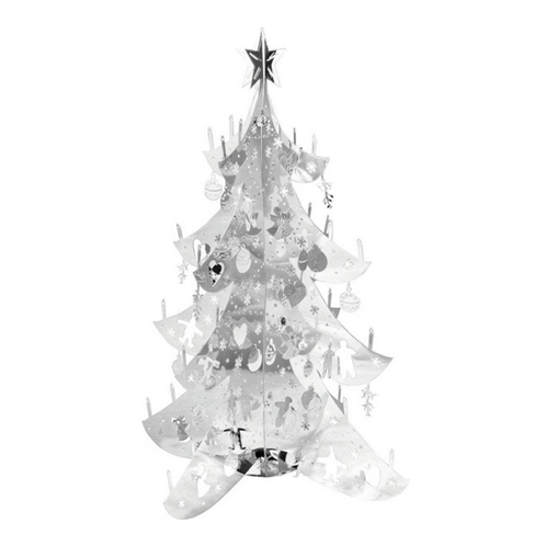 Large Silver Christmas Tree