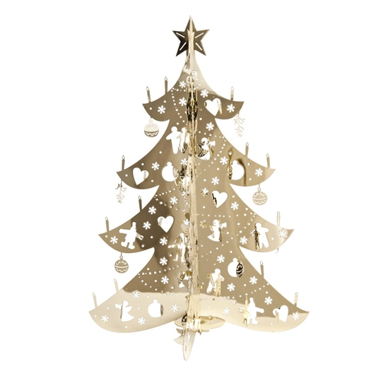 Small Gold Christmas Tree