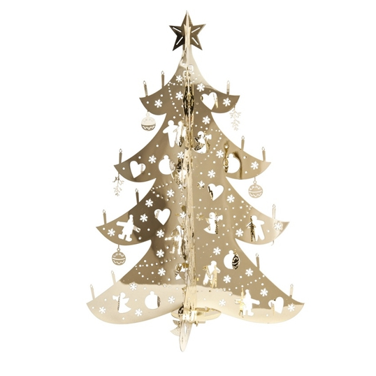 Large Gold Christmas Tree