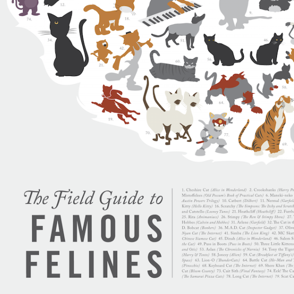 The Field Guides to Famous Felines