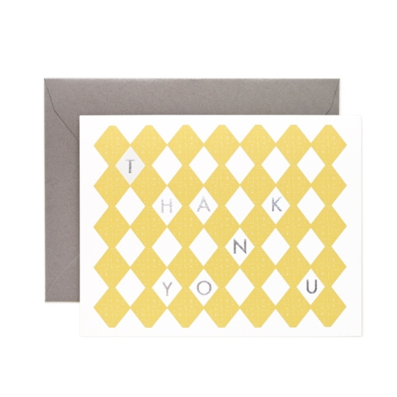 Thank You Canary Card - Northlight Homestore