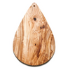Lay All Your Love On Me Olive Wood Pot Coaster - Northlight Homestore